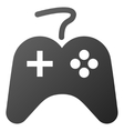 Game Controller Gradient Icon vector image