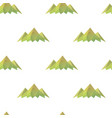 mountain triangle shape background vector image