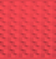 red 3d paper art style texture background vector image