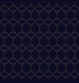 royal geometric seamless blue background grid vector image vector image