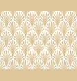 seamless abstract palm branch pattern vector image vector image
