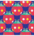 Seamless Ladybug Pattern Insect Pattern vector image