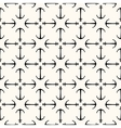 seamless retro pattern vector image vector image