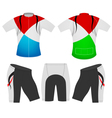 T shirt sports colors vector image vector image