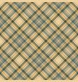 tartan check plaid seamless fabric texture vector image vector image