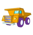 Truck icon cartoon style