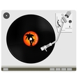 Vinyl player vector image vector image