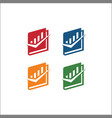 book icon solid pictograph isolated vector image