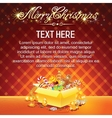 Bright Christmas Card vector image vector image