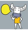 Buffalo Said vector image vector image