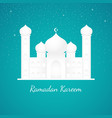 graphic of a mosque vector image