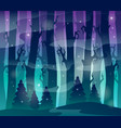 mysterious forest theme image 1 vector image vector image