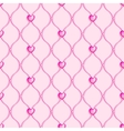 Pink seamless glass beads vector image vector image