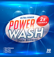 stain remover laundry detergent product designing vector image vector image