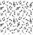 symbols of music sixteenth eighth quarter and vector image vector image