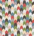 Abstract retro geometric seamless pattern