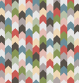 Abstract retro geometric seamless pattern with vector image