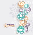 beautiful ramadan kareem islamic decoration