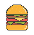 best burgers vector image