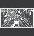 chisinau moldova city map in retro style outline vector image