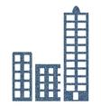 City Grainy Texture Icon vector image