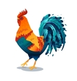 Fire Rooster symbol 2017 by the vector image vector image