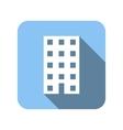 House flat symbol vector image