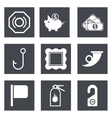 Icons for Web Design set 14 vector image vector image