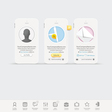 Infographics messaging vector image vector image