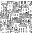 Magic CityColorieng book for adults vector image