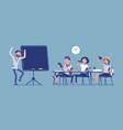 school bad behaviour vector image