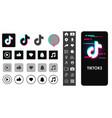 Social media templates modern design icon and