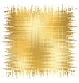 golden background square 2 vector image