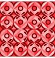 abstract seamless circles vector image vector image
