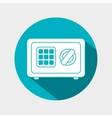 box safety money icon graphic isolated vector image