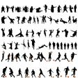 dance and sport set vector image vector image