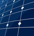 Solar panel background vector image