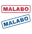 Malabo Rubber Stamps vector image vector image