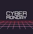 pixel art cyber friday vector image vector image