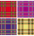 seamless tartan plaid vector image