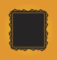 collection of halloween theme frame vector image vector image