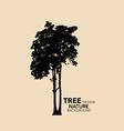 Eco Friendly Tree design vector image vector image