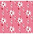 floral design background vector image vector image