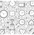 Hour background vector image vector image