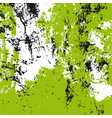 texture in green white black vector image vector image