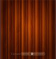 wood background texture of dark brown wooden plank vector image vector image