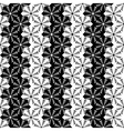 Design seamless monochrome vertical pattern vector image