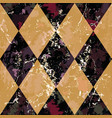dark seamless pattern fashion abstract style vector image