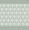 art deco seamless pattern with black and white vector image