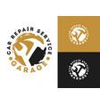 automobile car repairing service logo design